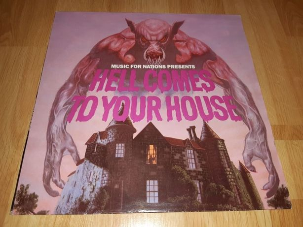 V.A. Manowar, Metallica. Antrax (Hell Comes To Your House) 1984. LP.