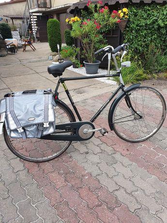 Rower holenderski retro batavus męski Posada 3 biegi Koła 28 rama 60