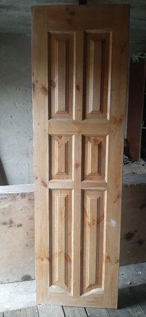 Двері, дерево розміром  600×2045