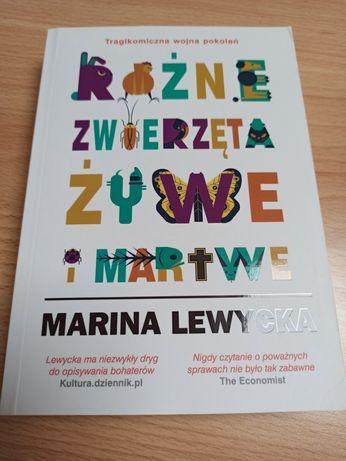 Różne zwierzęta żywe i martwe Marina Lewycka