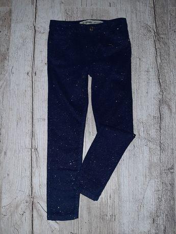 Новые джинсы с напылением 5-7лет