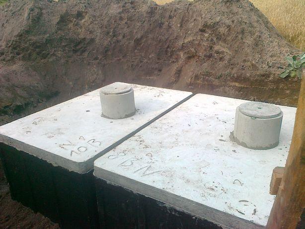 Zbiornik na gnojowicę gnojówkę szambo 16m3 szamba betonowe deszczówkę
