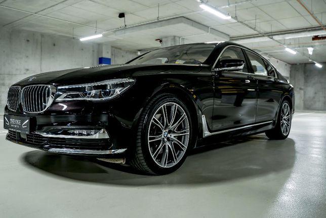 BMW 7 / Limuzyna do ślubu, wesele, przejazd, do wynajęcia z kierowcą