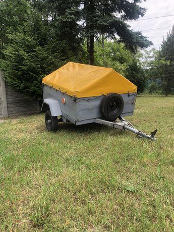 Przyczepka ogrodnicza do quada auta przyczepa