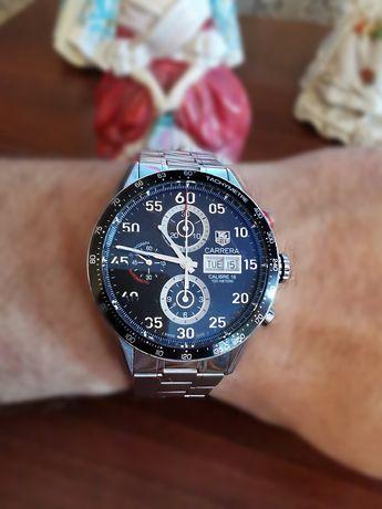 Piękny zegarek męski  Tag Heuer Carrera,Calibre 16,mod.CV2A10,Day/Date