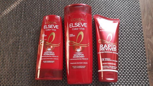 Zestaw kosmetyków do włosów farbowanych ELSEVE ColorVive L'Oreal Paris