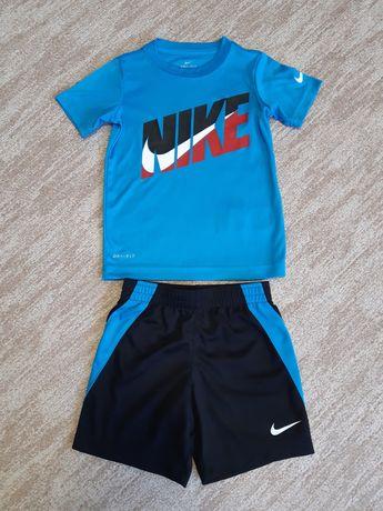 Nike спортивный костюм шорты футболка