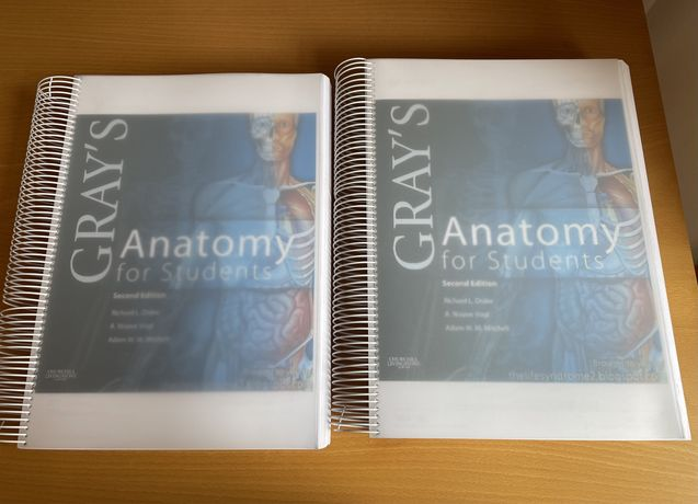 Gray's Anatomy for Students , impresso a cores