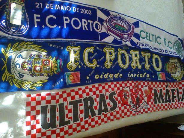 3 Cachecois de Futebol (2 FC.Porto e Leixões)
