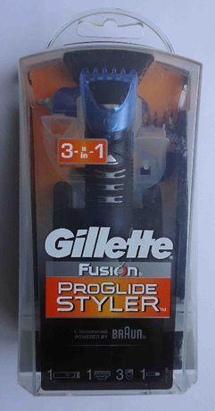 Триммер Styler Gillette Fusion с насадками