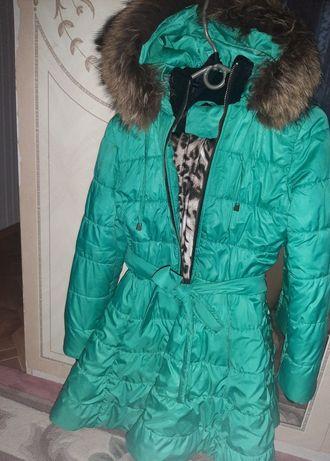 Зимнее пальто платье
