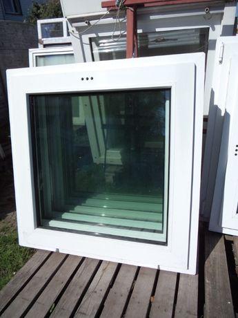 Okna używane z Niemiec 90 x 90 uchylne