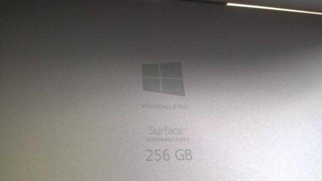 Microsoft Surface 3 Pro 8GB 256ГБ ssd cpu I5 4300U на 1,9—2,5МГц