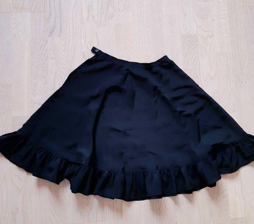 Черная юбка для танцев/хореографии