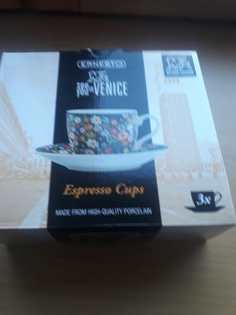 Filiżanki espresso