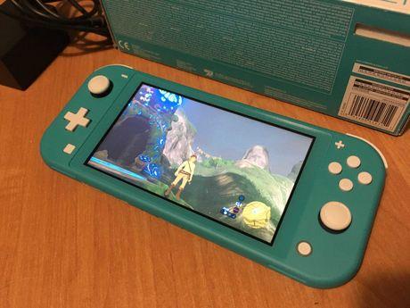 Nintendo Switch Lite - jak nowa
