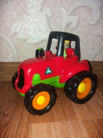 Интерактивный трактор Elc (Happyland, Mothercare), озвучен