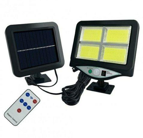 Продам прожектор з сонячною батареєю та з дачиком руху