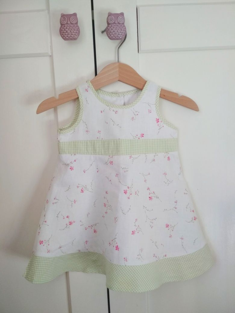 Sukienka Next rozmiar 68.