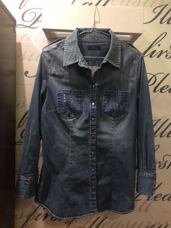 Koszula jeansowa twinset