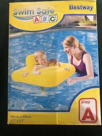 Fotelik dla niemowlaka do basenu