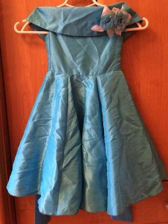 платье нарядное для девочки 3-5 лет рост 98-105 см