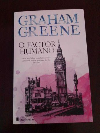 Livro O Factor Humano - Graham Green (c/ portes)