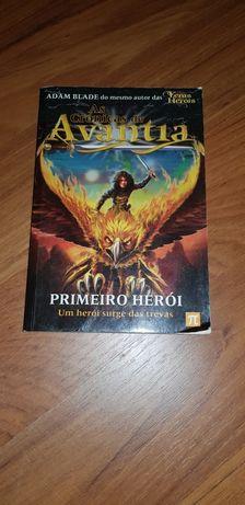 URGENTE! Livro As crónicas de Avantia - Primeiro herói