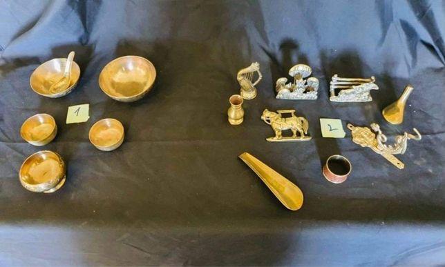 Miniaturas cobre Antigas ( coleção)