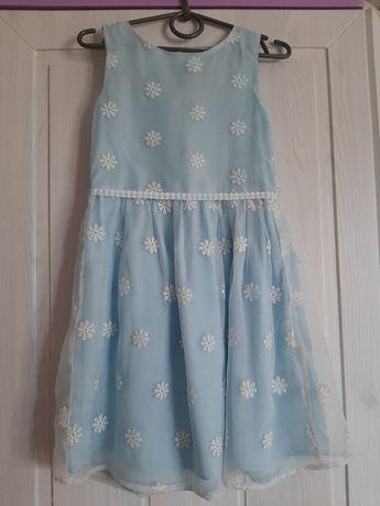 Фирменное платье для девочки 4-5лет.
