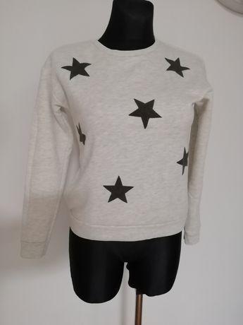 Bluza w gwiazdki rozmiar XS