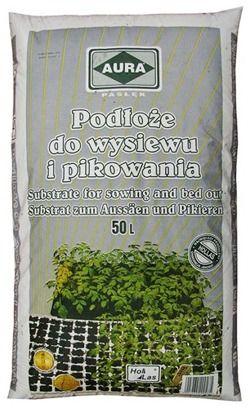PODŁOŻE DO WYSIEWU I PIKOWANIA AURA 50L do wysiewu nasion i roślin