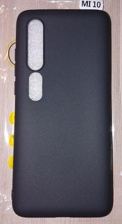 Чехол Силиконовый Xiaomi Mi 10 Черный