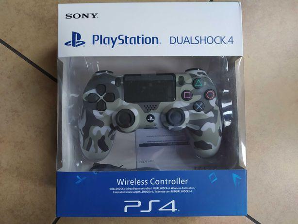 Pad PS4 Dualshock 4 V2 nowy w pudełku camo szary