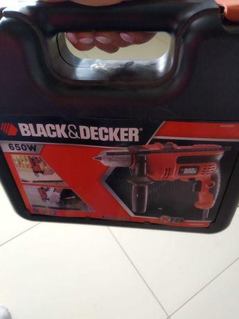 Black decker wiertarka 650w kr654cresk