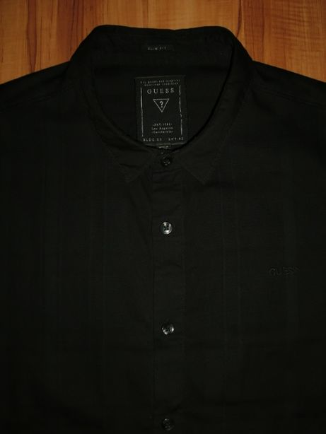 XL рубашка Guess - Slim Fit оригинал etro zegna