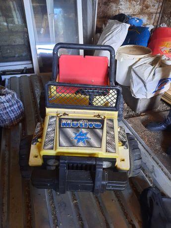Детская машина  джип для двоих
