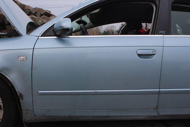 Drzwi przednie lewe Audi A4 B7 LY5J sedan