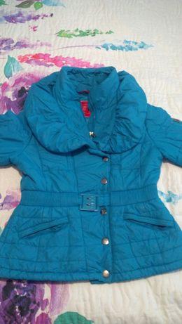 Kurtka damska TIFFI rozmiar L niebieski turkusowy