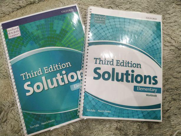 Книжки копії Solutions elementary