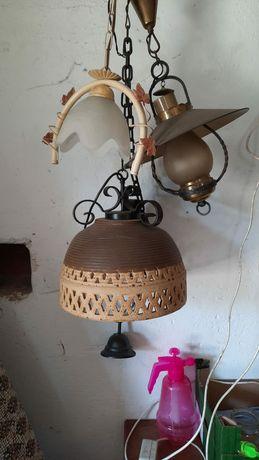 Lampy nocne lub wiszące