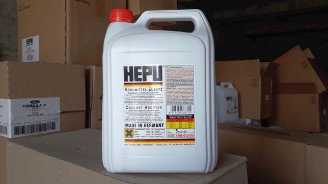 Антифриз концентрат ХЕПУ HEPU G 12 -80°C красный (5 литров)