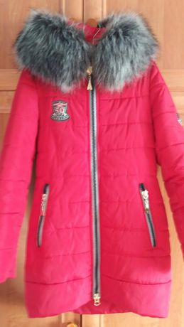 Молодежная зимняя куртка