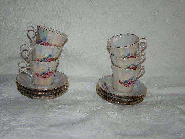Кофейные чашки и конфетница одним лотом, Коростень