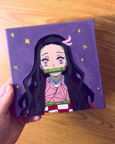 Tela: Nezuko (Demon Slayer) Anime - Preços a partir de 10€