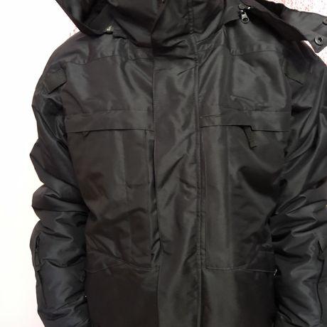 Куртка зимняя тактическая Patrol черная