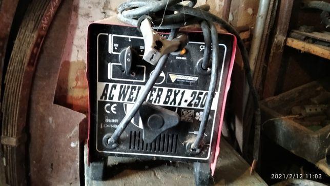 Продам Сварку AC WELDER BX1-250