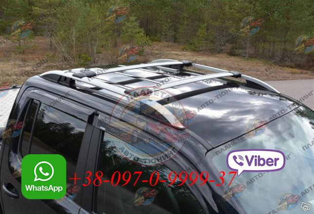Рейлинги рейлінги Volkswagen Amarok 2010-2021 багажник дуги на крышу