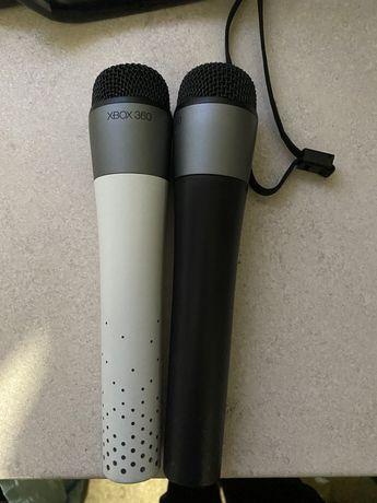 2x oryginalny mikrofon xbox x360 bezprzewodowe