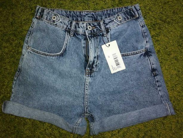 Джинсовые шорты МОМ, M-L, 27 размер